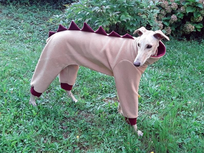 b86e9a1ae Greyhound Fleece Pajamas  Galgo Pajamas   Dinosaur Dog Pajamas