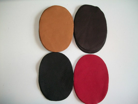 3 colors to choose 7/'/'by5/'/' Made in the USA Real Deerskin Suede Leather Elbow Patch Kit