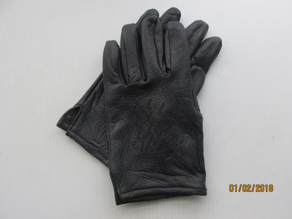 MADE IN THE USA SOFT DEERSKIN LEATHER DRIVING GLOVES 5 COLORS TO CHOOSE FROM