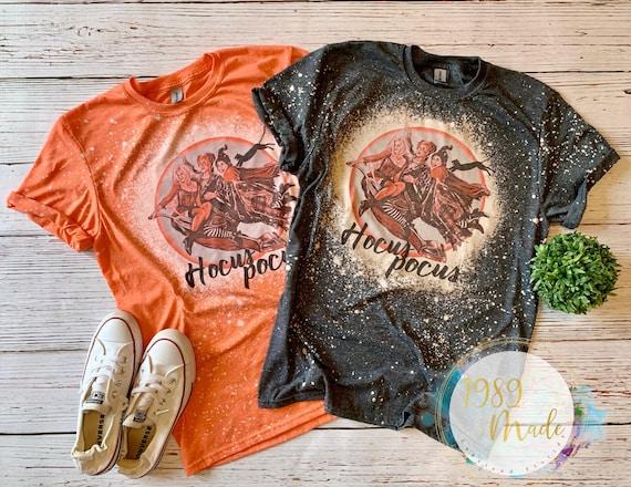 Vintage Hocus Pocus Bleached Dyed Shirt