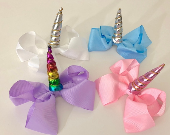 Unicorn Hair Bow, Unicorn Birthday Bow, Unicorn Hair Birthday Bow, Unicorn Birthday Gift ,Unicorn Birthday Bow, Unicorn Birthday Flavor