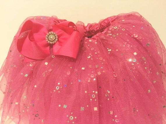 Easter Basket Tutu Gift Set! Girl Tutu, Hair Bow Gift Set, Hot Pink Turu Set, Turquouise Blue Tutu Gift ,Birthday Gift Girl,Toddler gift