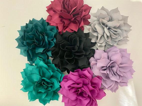 Wedding Flower Hair Clips, Blush Flower Clip, Beige Flower Clip, Dusty Rose Clip, Taupe Hair Clip, Easter Flower Hair Clip, Floral Hair Clip