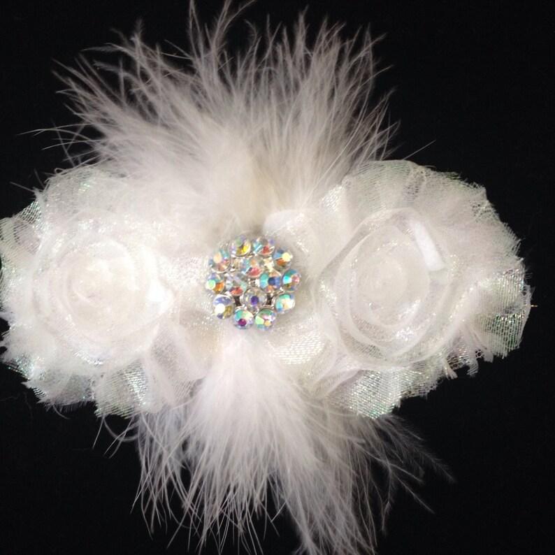 Dance Competition Hair piece. Glitter Hair