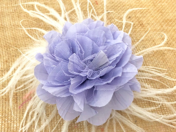 Lilac  Lavender Hair Clip, Spring Wedding Fascinator, All colors,Ivory, White, Purple, Yellow, Red,Teal, Blue, Pink Mint Flower Clips
