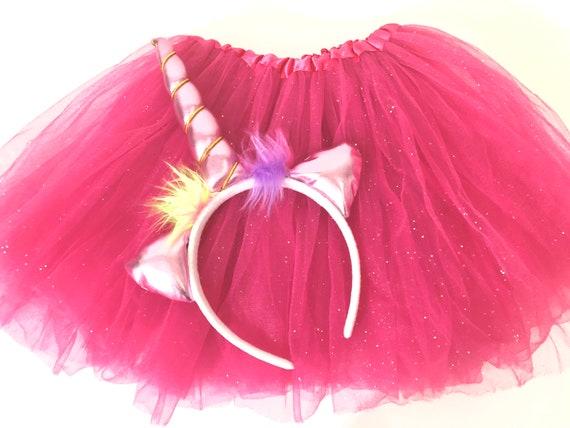 Unicorn Easter Basket Birthday Gift Set, Unicorn Headband Tutu Birthday Gift, Birthday Girl Tutu, 2 piece Birthday Gift Set, Gifts for Girls