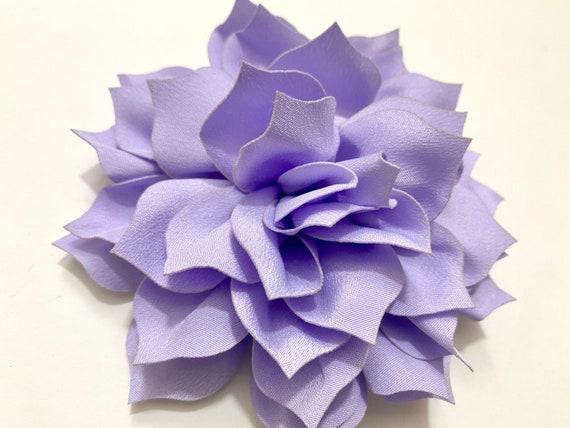Lavender Flower clip, Lilac Hair clip, Spring Floral Wedding Hair Clips, Purple, Raspberry, Taupe Flower Hair Clips, Flower Girl Bridal Clip