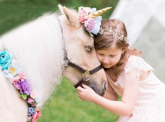 Rose Gold Flower Crown, Silver Flower Crown, Gold Flower Girl Crown Wreath, Wedding Bridal Crown, Birthday Crown Halo Wreath