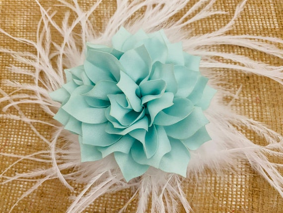 Floral Fascinator, Wedding Flower Fascinator, Kentucky Derby Fascinator, Coral,Mint, Dusty Pink Rose, Champagne Beige,Ivory, White Hair Clip