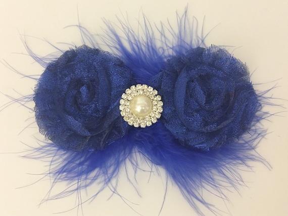 Royal Blue Clip Glitter Hair Clips, Dance Costume Hair Clip, All Colors Glitter Red, Black, White,Gold, Silver Glitter Hair Clips, Custom