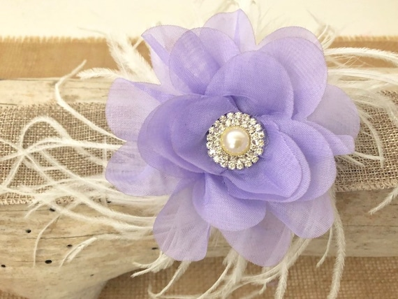 Lavender Flower Hair Clip, Mint Floral Hair Clip, Lilac Flower Hair Clip, Spring Wedding Hair Acessories, Flower Girl Clip, Easter Hair