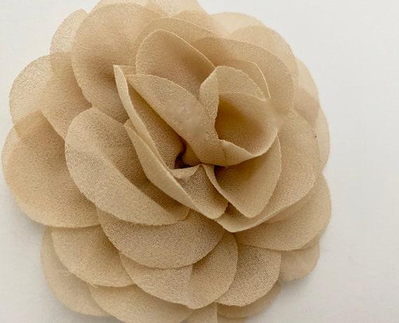 Flower Girl Hair Clips, Ivory Hair Clips,Beige,Pink, Coral,Peach,Blush Hair Clips, Dusty Rose Flower Hair Clips, Floral Wedding Hair Clips