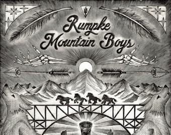 Rumpke Mountain Boys 2018 Print