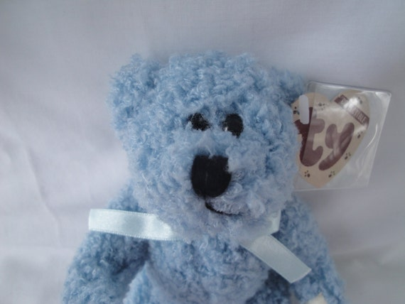 b66ea7f7377 Bluebeary Ty Attic Treasure Jointed Bear Retired Attic