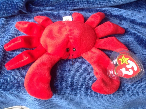 Pelle le crabe Ty Beanie Baby Style #4027