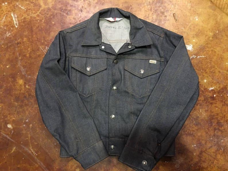 39d9a6c73 Vintage Sears Toughskin Denim Jacket Size Boys 14 | Etsy