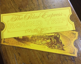 photograph relating to Printable Polar Express Tickets Boarding Passes identified as Polar specific ticket Etsy