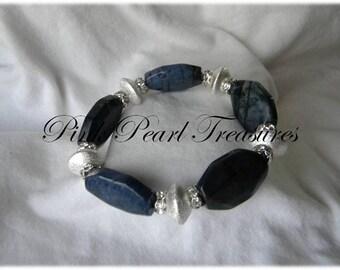 Midnight Sky stretch bracelet