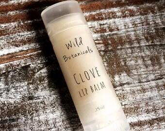 Clove Lip Balm, All Natural