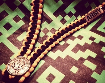 Armed Forces Paracord ID Lanyard