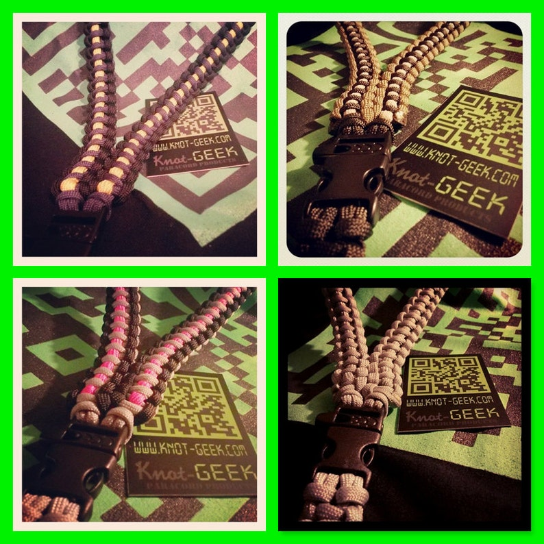 ThinLine Paracord ID Lanyard image 0