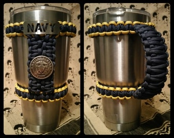 Armed Forces Paracord 30oz YETI/RTIC/Ozark Handle