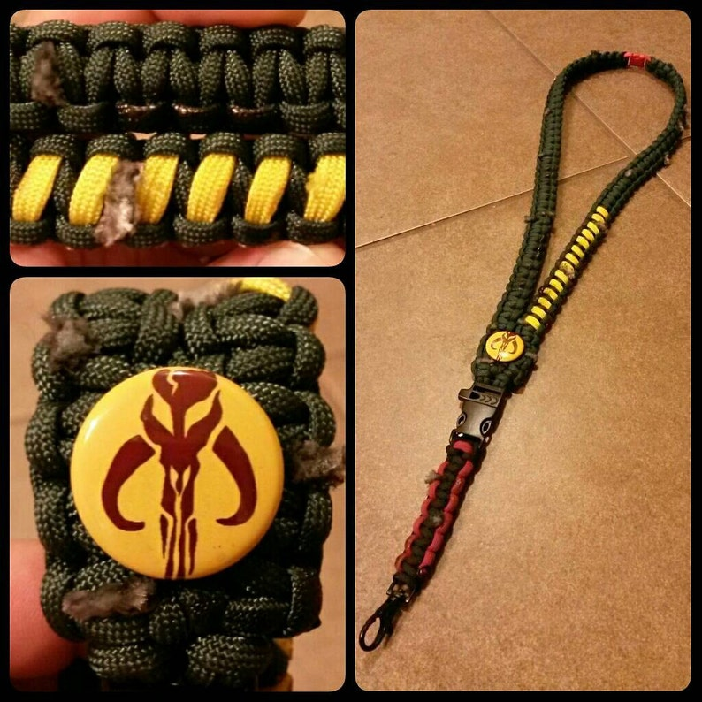 The Bounty Hunter Specialty paracord ID lanyard. image 0