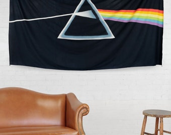 Classic Pink Floyd Dark Side of The Moon Tapestry 60 x 90