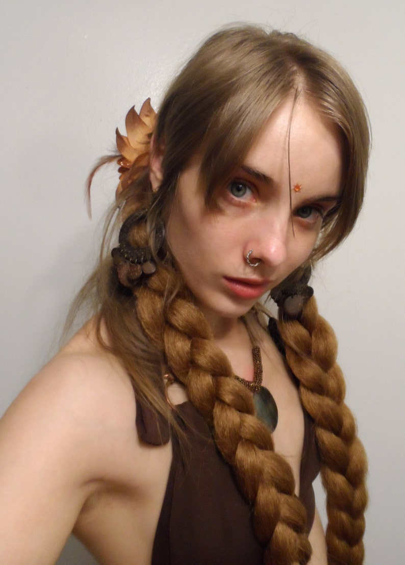 Braid Extensions  Choose Your Color  Synthetic Hair image 0