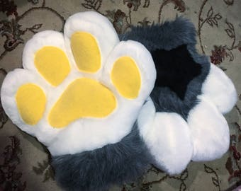 Custom Fursuit Bubble Paws