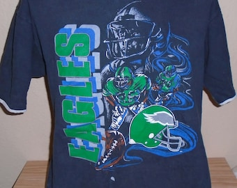 vintage 1990s Philadelphia Eagles football t shirt Large b0be45fa0