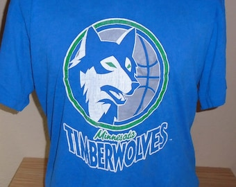 new style 5e51a be963 Vintage timberwolves | Etsy