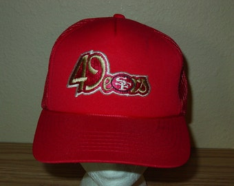 a81ba85ce vintage 1980s San Francisco 49ers football snapback hat