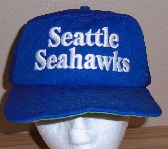 Vintage snapback hat 1980s Seattle Seahawks THRASH