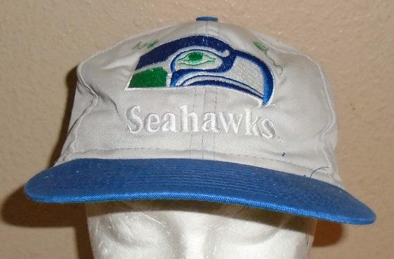 Vintage snapback hat 1980s Seattle Seahawks