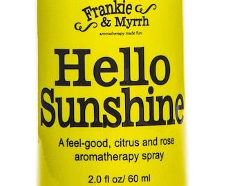 Hello Sunshine   Anti-Anxiety Bergamot Aromatherapy Perfume/Spray for Stress and Relaxation