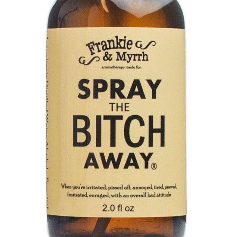Spray the Bitch Away   Aromatherapy Spray/Perfume for PMS image 0
