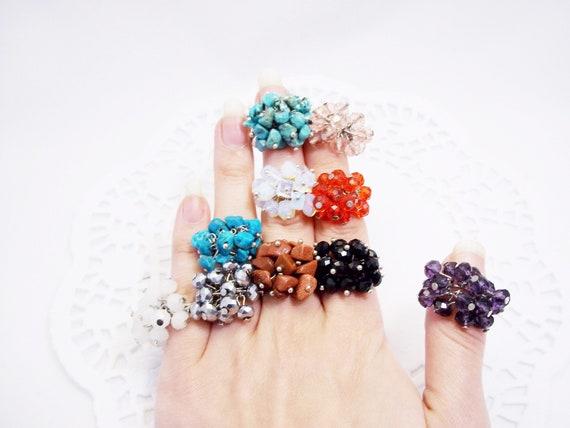 Rings For Women Gift Women Statement Ring Gift for her Gemstone Ring Statement Jewelry Gemstone Ring Gifts For Women
