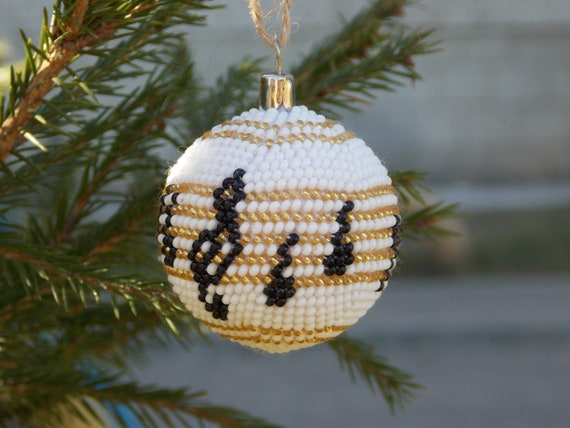 Music Themed Christmas Ornaments.Black And White Ornaments Musical Christmas Ornaments Music Themed Gifts For Teacher Music Note Ornament Xmas Tree Decorations Treble Clef