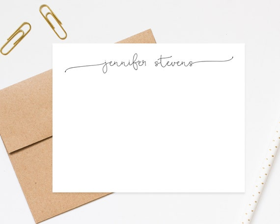 image 0 - Personalized Stationery Cards