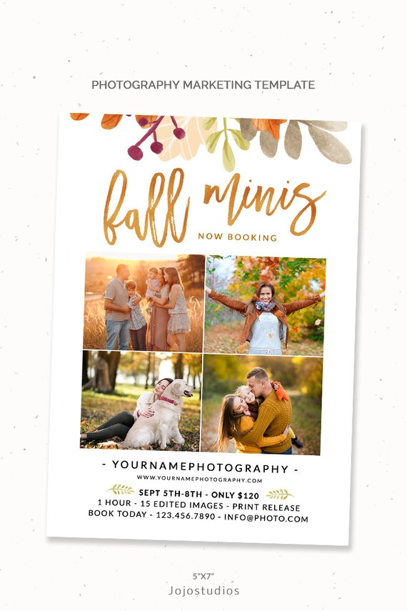 Family Mini Session Marketing Now Booking Photography Etsy