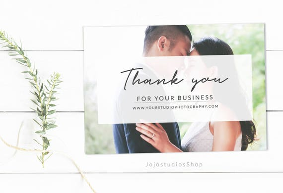 Thank You Cards Template,  Thank you Cards for Photographers, Thank you, Photography Templates Marketing for Photographers, ty001