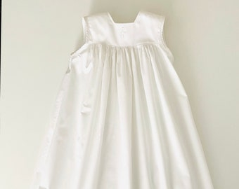 Christening apron Christening gown Gr. 74 christening gowns boys girls hemstitch cotton christening clothes baptism traditionally long