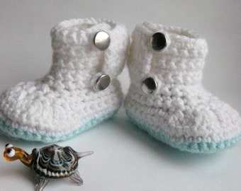 SALE! Baby booties, Crochet booties, Baby Shoes, Infant Booties, Toddler Shoes.