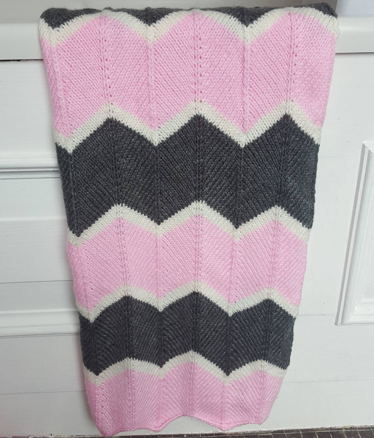 6657800a8c0 Hand knitted baby blanket