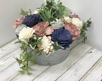 Sola Wood Flowers, Wood Flower Arrangement, Flower Arrangement, Wedding Centerpiece
