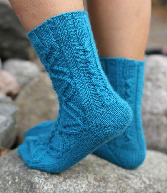 Strickmuster Socken \'Jormungandr\' Strickanleitung als   Etsy