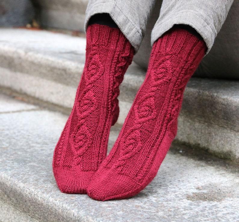 Sock Knitting Pattern Oden S Socks Pdf Download Etsy