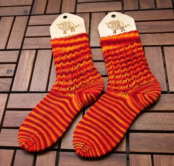 Strickmuster Socken Strickanleitung als PDF zum herunterladen   Etsy