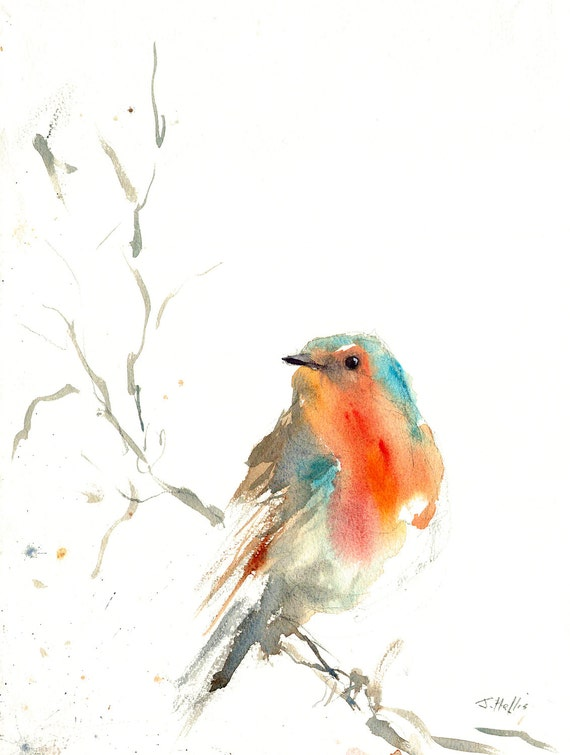 Mouettes En Vol Wild Birds YFS0321 Art Print A4 A3 A2 A1